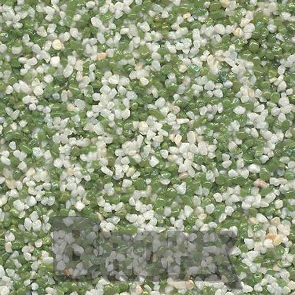 Mosaikputz Buntsteinputz 15 kg, Körnung 1,0-1,6 mm beige-grün TM17