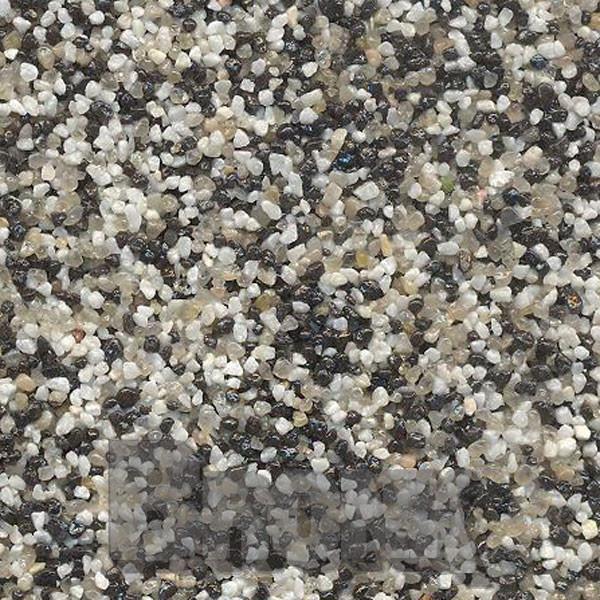 Mosaikputz Buntsteinputz 15 kg, Körnung 1,0-1,6 mm beige-quarz-schwarz TM21