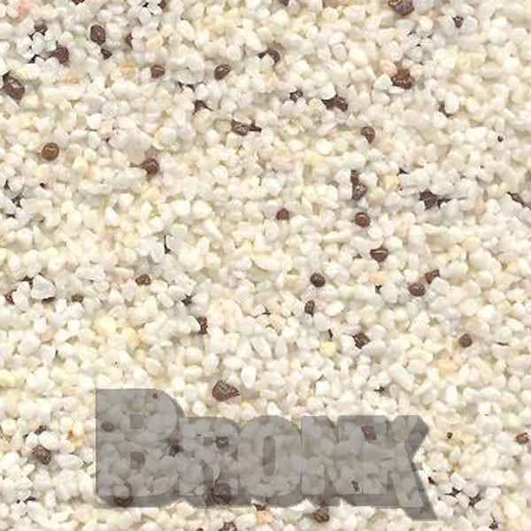 Mosaikputz Buntsteinputz 15 kg, Körnung 1,0-1,6 mm weiß, braun TM7