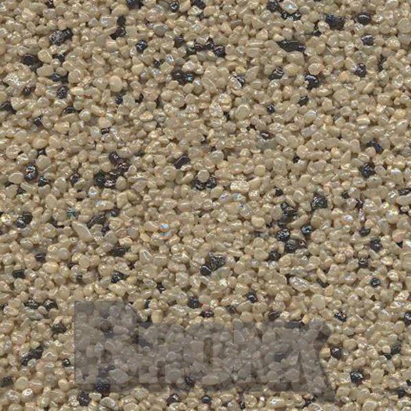 Mosaikputz Buntsteinputz 15 kg, Körnung 1,0-1,6 mm sand-schwarz TM30