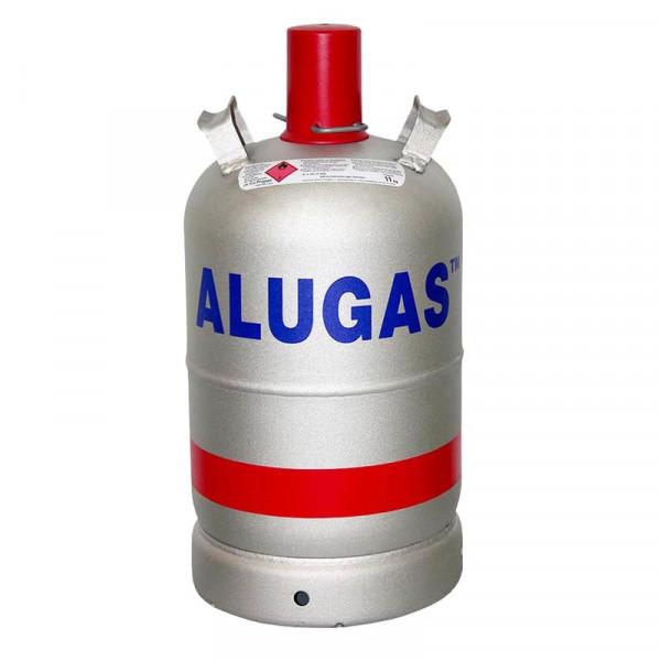 Alu-Gasflasche Leer 11kg TÜV bis 2031