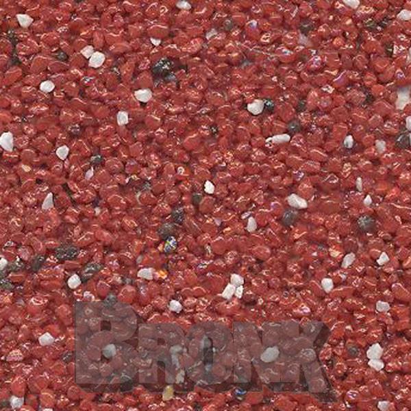 Mosaikputz Buntsteinputz 15 kg, Körnung 1,0-1,6 mm rot-weiß-braun TM63