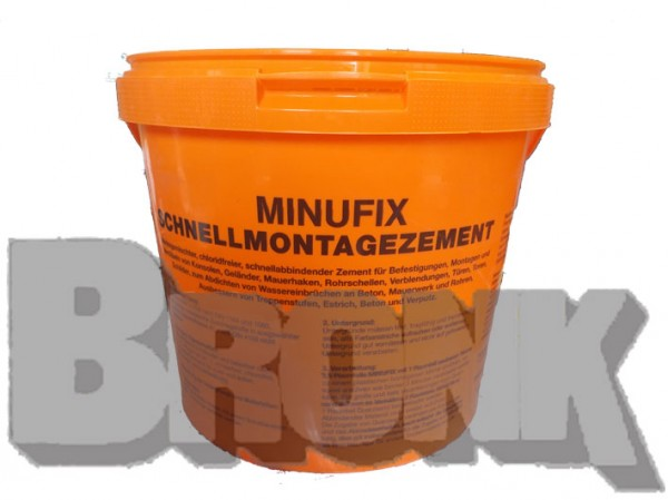 Manufix Schnnellmontagezement