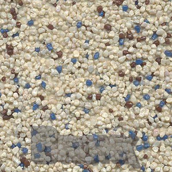 Mosaikputz Buntsteinputz 15 kg, Körnung 1,0-1,6 mm beige-blau-braun TM43