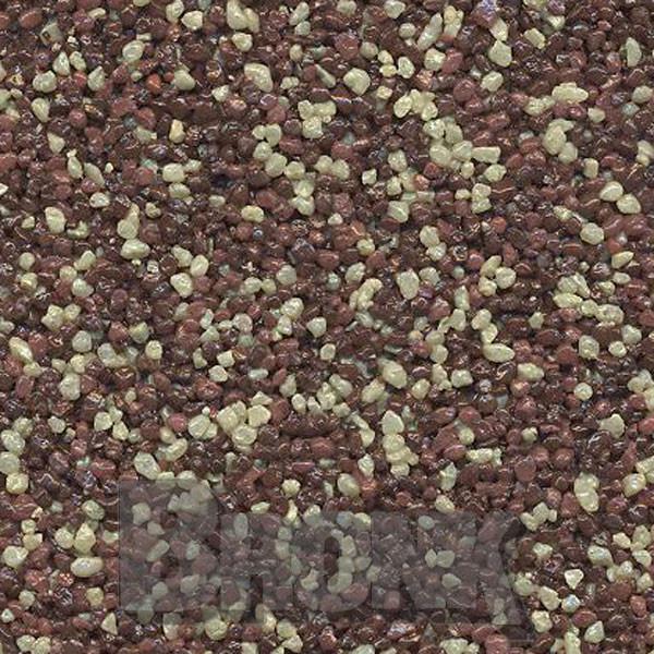Mosaikputz Buntsteinputz 15 kg, Körnung 1,0-1,6 mm sand/gelb-braun TM69