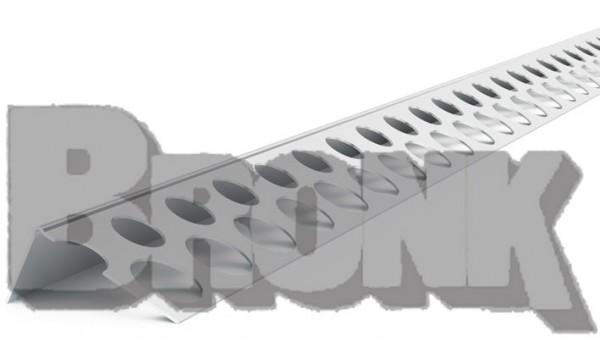 Abschlussprofil Aluminium, glatt
