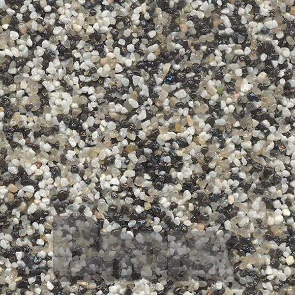 Mosaikputz Buntsteinputz 7,5 kg Schwarz-Quarz-Weiß TM21
