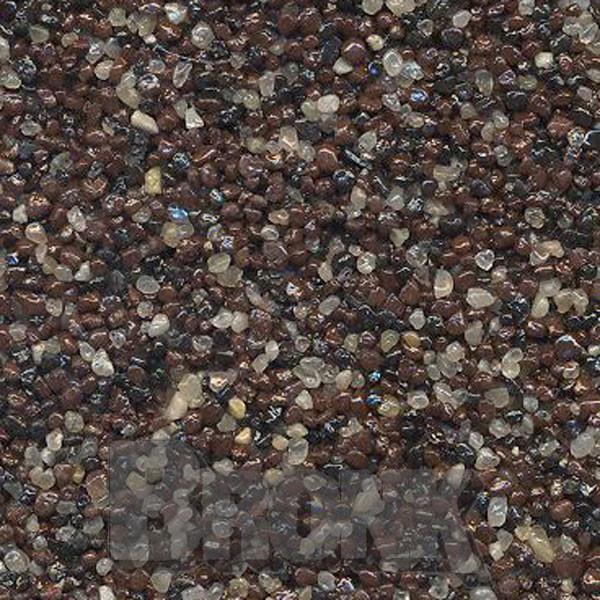 Mosaikputz Buntsteinputz 15 kg, Körnung 1,0-1,6 mm quarz-braun-schwarz TM39