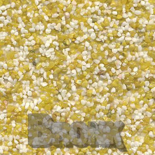 Mosaikputz Buntsteinputz 15 kg, Körnung 1,0-1,6 mm beige-sand/gelb TM15