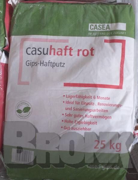 Casuhaft rot Gips-Leicht-Haftputz