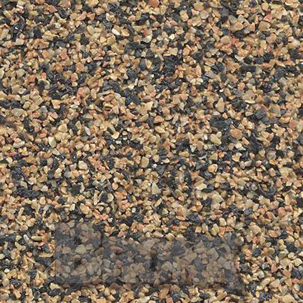 Mosaikputz Buntsteinputz 15 kg, Körnung 1,0-1,6 mm sand/gelb-orange-schwarz TM78