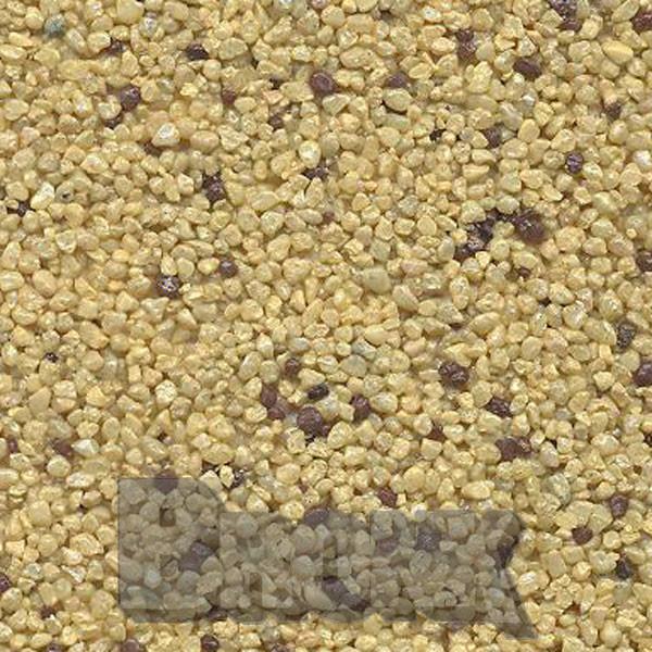 Mosaikputz Buntsteinputz 15 kg, Körnung 1,0-1,6 mm sand/gelb-braun TM51