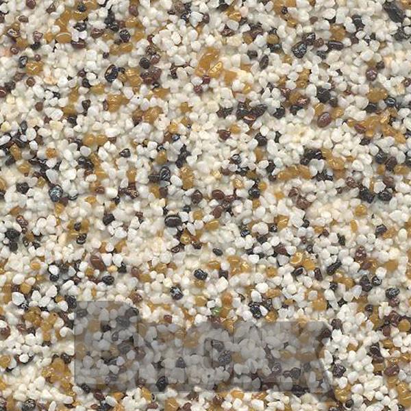 Mosaikputz Buntsteinputz 15 kg, Körnung 1,0-1,6 mm beige-sand-braun-schwarz TM14