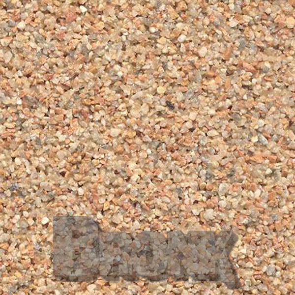 Mosaikputz Buntsteinputz 15 kg, Körnung 1,0-1,6 mm orange-quarz-grau TM74