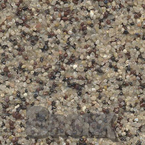 Mosaikputz Buntsteinputz 15 kg, Körnung 1,0-1,6 mm quarz-braun-schwarz TM29