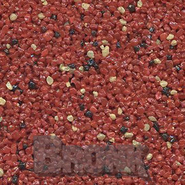 Mosaikputz Buntsteinputz 15 kg, Körnung 1,0-1,6 mm rot-beige-schwarz TM62