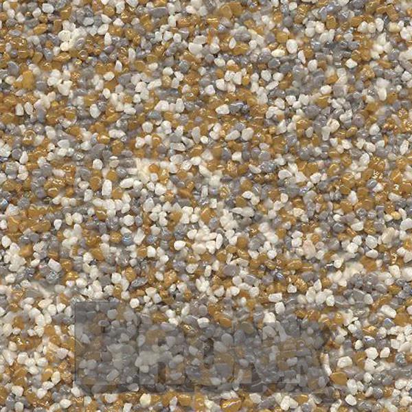 Mosaikputz Buntsteinputz 15 kg, Körnung 1,0-1,6 mm beige-grau-braun TM20