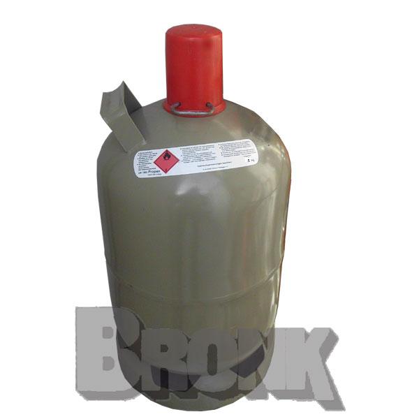 Propangasstahlflasche 5 kg und 11 kg (ohne Füllung) TÜV bis 2029