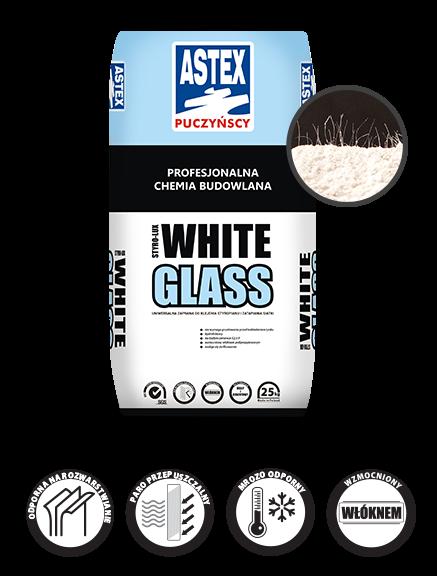 Klebe- und Armierungsmörtel weiß Glass