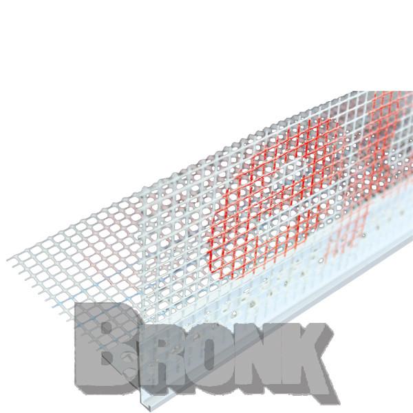 PVC - Abschlußprofil mit Tropfkante