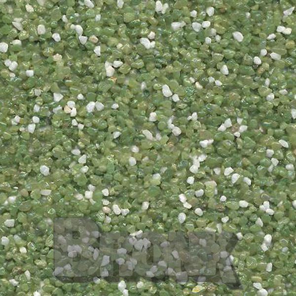 Mosaikputz Buntsteinputz 15 kg, Körnung 1,0-1,6 mm weiß-hellgrün TM58