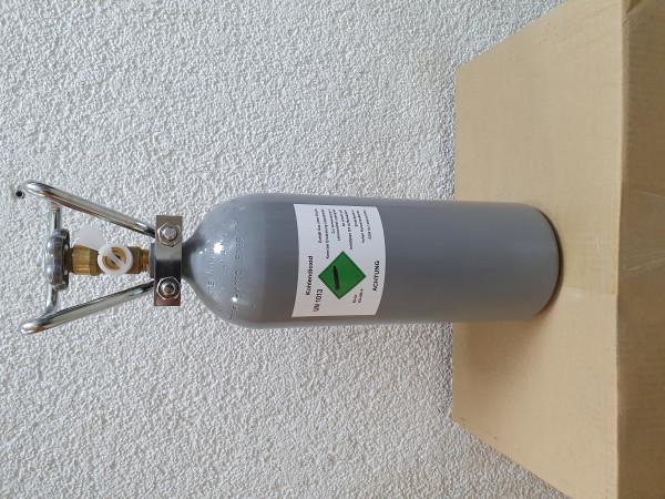 CO2 Kohlendioxid 2 kg Flasche gefüllt