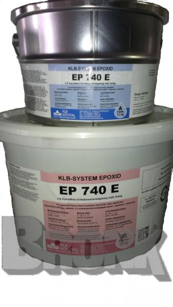 Seidenmatte, farbige 2-K-Epoxidharz-Emulsion-Versieglung