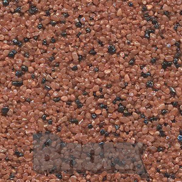 Mosaikputz Buntsteinputz 15 kg, Körnung 1,0-1,6 mm rot-schwarz TM33