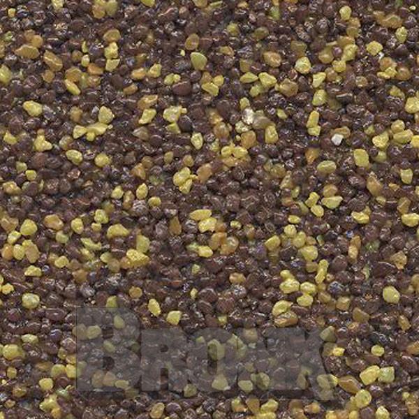 Mosaikputz Buntsteinputz 15 kg, Körnung 1,0-1,6 mm sand/gelb-orange-braun TM70