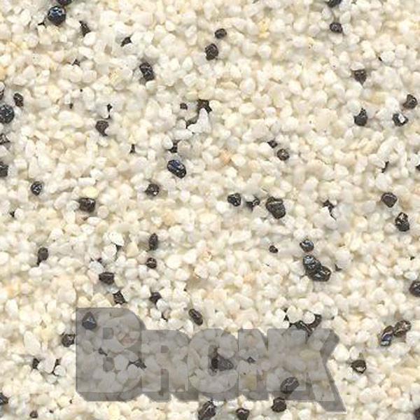 Mosaikputz Buntsteinputz 15 kg, Körnung 1,0-1,6 mm beige-schwarz TM8
