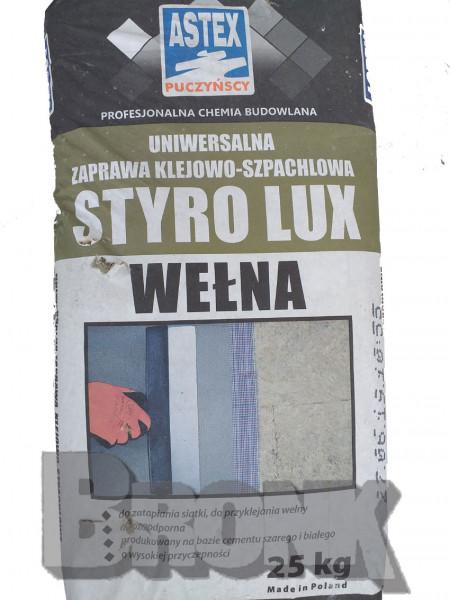 Klebe- und Armierungsmörtel für Mineralfaserplatten - Styrolux Welna