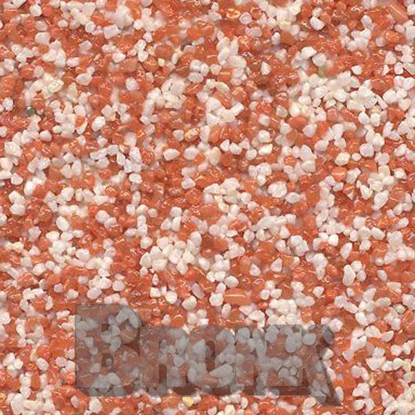 Mosaikputz Buntsteinputz 15 kg, Körnung 1,0-1,6 mm beige-rot TM16