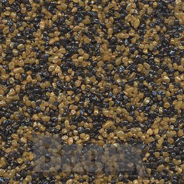 Mosaikputz Buntsteinputz 15 kg, Körnung 1,0-1,6 mm sand/gelb-schwarz TM28